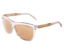 Sonnenbrille white/brown