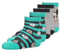 5 PACK Socken grey/green
