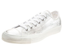 CHUCK TAYLOR ALL STAR OX - Sneaker low - silver/white
