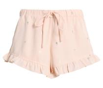 VIPANA - Shorts - silver peony/gold foilprint