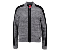 Bomberjacke dark grey heather/wolf grey/black