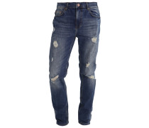 Jeans Relaxed Fit dirty denim
