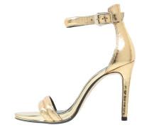 BROOK High Heel Sandaletten gold