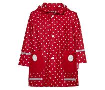Regenjacke / wasserabweisende Jacke rot