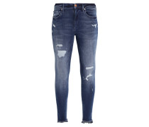 HALLE HYPER - Jeans Skinny Fit - flex blue denim