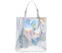 Shopping Bag metallic silver