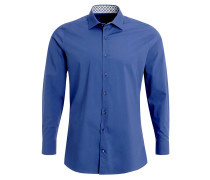 SLIM FIT Hemd blau