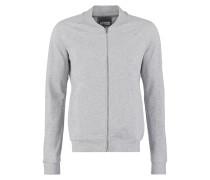 Sweatjacke mottled grey