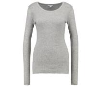 Langarmshirt heather grey