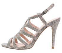 GERTRUDE High Heel Sandaletten silver