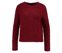 Strickpullover - cabernet bordeaux red