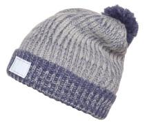 Mütze glacier gray/aurora purple/silver