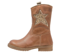 Cowboy/ Bikerstiefelette mid brown