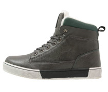 Sneaker high dark grey/dark green
