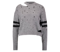 Strickpullover - charcoal