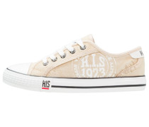 Sneaker low - washed beige