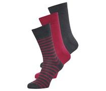 Socken rot/blau