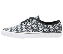 Sneaker low white/black