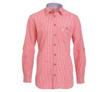 DENVER SLIM-FIT - Hemd - rot