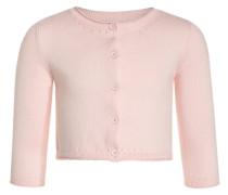 Strickjacke - pink cameo