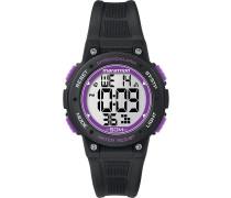 Digitaluhr schwarz