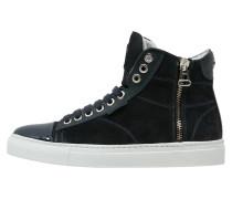 Sneaker high dark navy