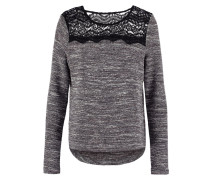 ISA Strickpullover smoked pearl