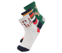 3 PACK Socken gingerbread man