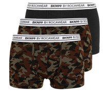 3 PACK Panties khaki/camo