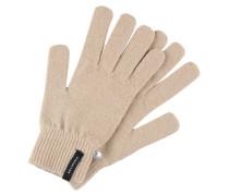 Fingerhandschuh beige