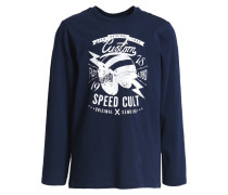 Langarmshirt dark blue