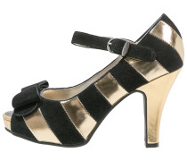 ANGIE High Heel Peeptoe gold/black