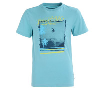 CAPTURE - T-Shirt print - aquatic blue