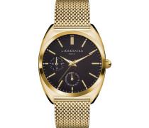 Uhr - gold-coloured/black
