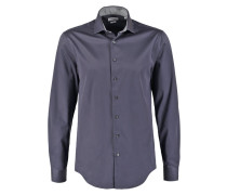 ROME FITTED Businesshemd charcoal