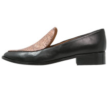 MALONE Slipper luster peach/black