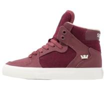VAIDER Sneaker high burgundy/white