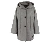 XENA Wollmantel / klassischer Mantel grey melange