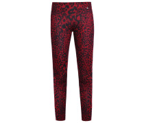 Leggings Hosen biking red
