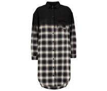 Blusenkleid black/grey