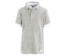 Poloshirt - gris chine