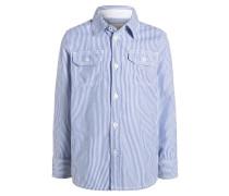 Hemd bright blue