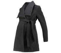 MLNEWROXY Wollmantel / klassischer Mantel medium grey melange