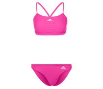 Bikini pink/white