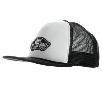 CLASSIC PATCH TRUCKER - Cap - white/black