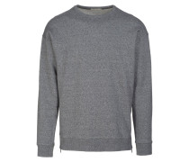 LOGAN Sweatshirt dark grey melange