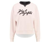 Sweatshirt rose smoke