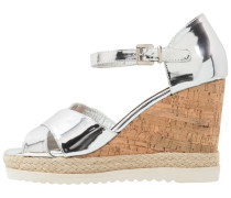 High Heel Sandaletten plata