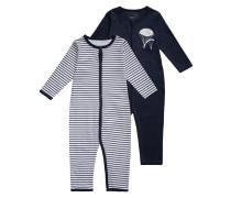 2 PACK Pyjama dress blues