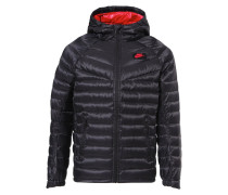 GUILD Daunenjacke black/gym red